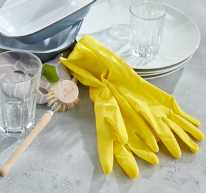 Compostable Natural Latex Rubber Gloves