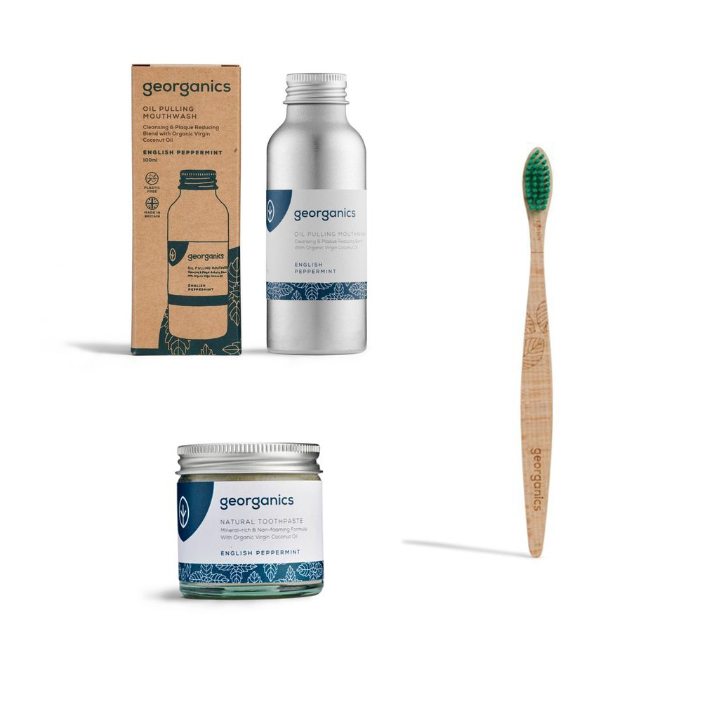 Oral Care Starter Kit English Peppermint