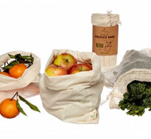 Load image into Gallery viewer, Organic Produce Bags 3 Pack