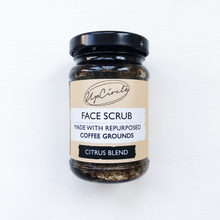 Load image into Gallery viewer, Coffee Face Scrub Citrus Blend 100g
