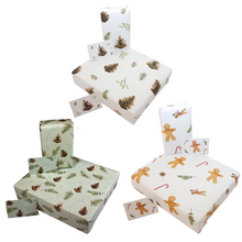Load image into Gallery viewer, Christmas Recycled Wrapping Paper Bundle
