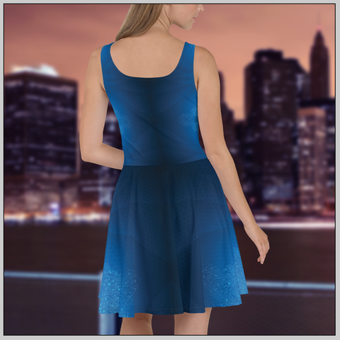 Midnight Butterfly Dress
