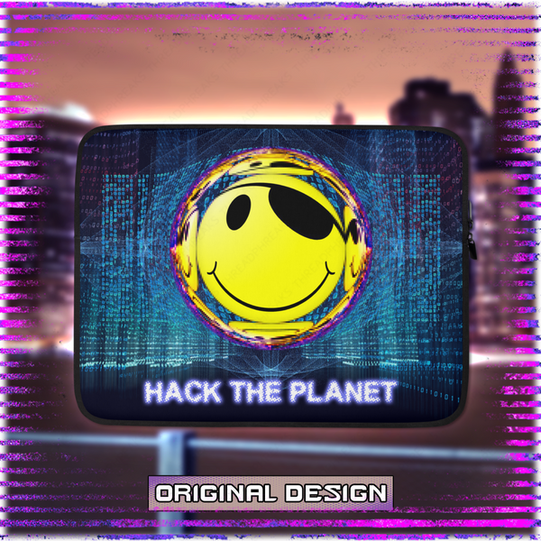 Hack The Planet Laptop Sleeve