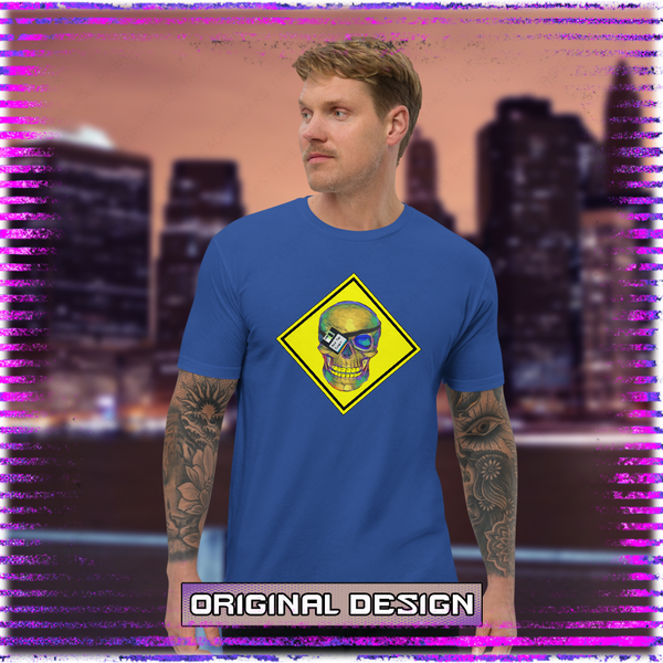 Crash Override Masculine T-shirt