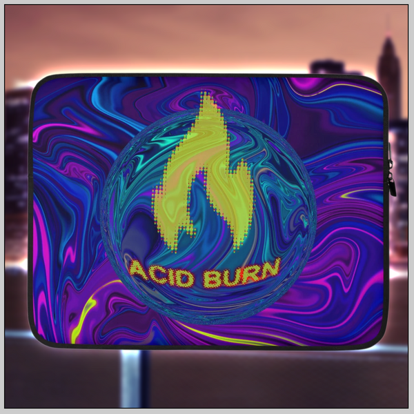 Acid Burn: Hackers Laptop Sleeve