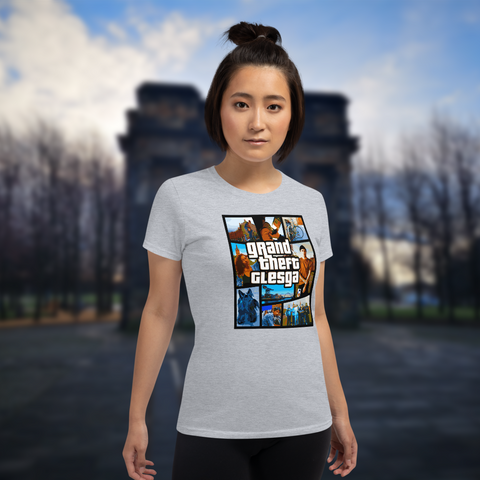 Grand Theft Glesga Feminine T-shirt