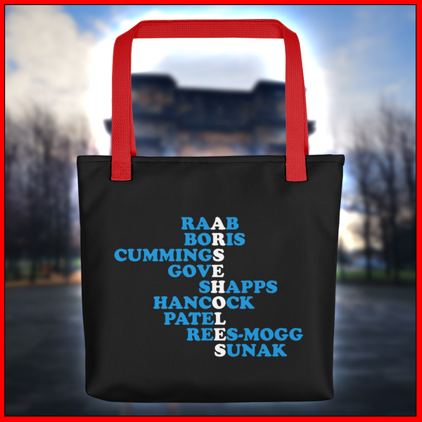 Arsehole Conservatives Tote bag