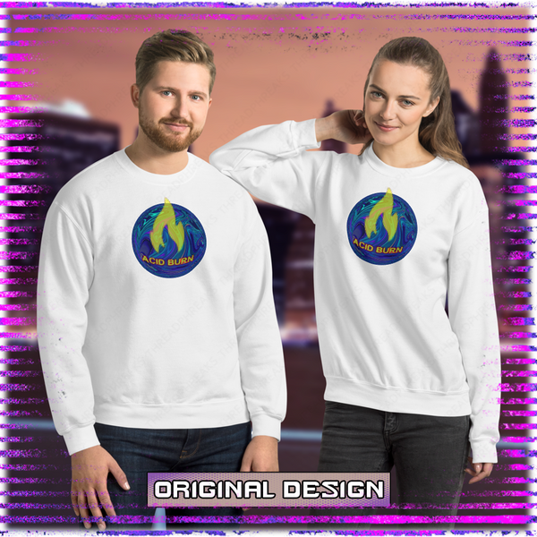 Acid-Burn Unisex Sweatshirt
