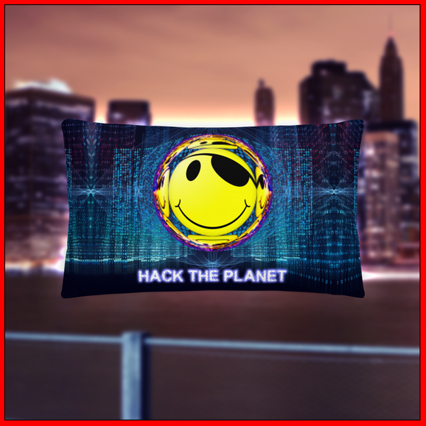 Hack The Planet Premium Pillow
