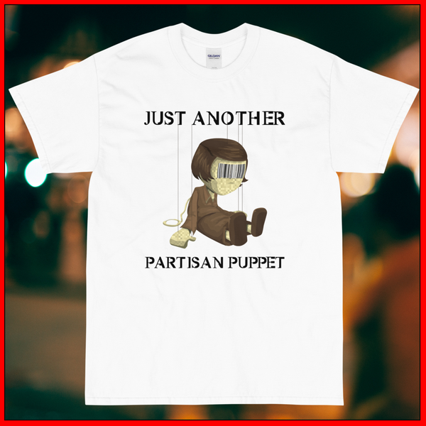 Partisan Puppet Masculine Short Sleeve T-Shirt