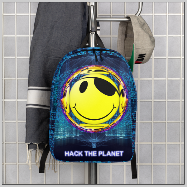 Hack The Planet Starter Backpack