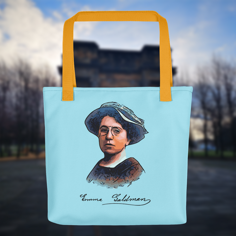 Emma Goldman Tote bag