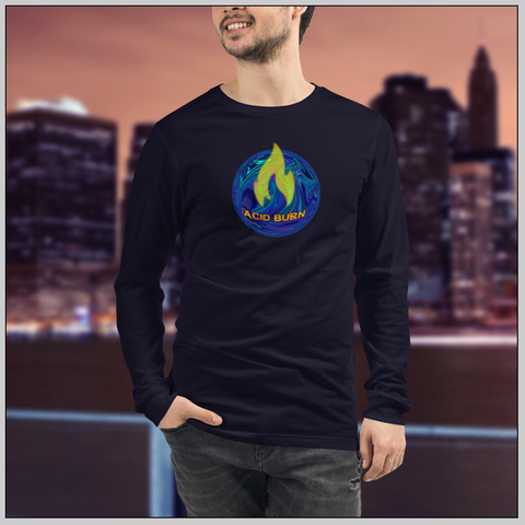 Acid Burn Unisex Long Sleeve Top