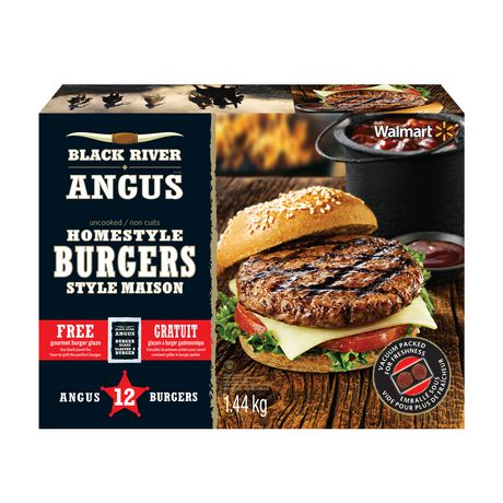 Black River Angus Homestyle Burgers