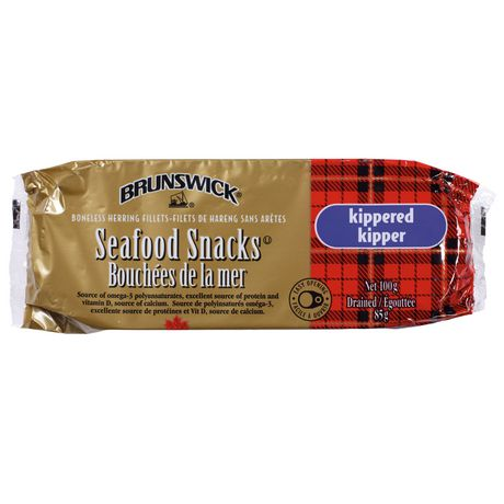 Brunswick Kippered Seafood Snacks