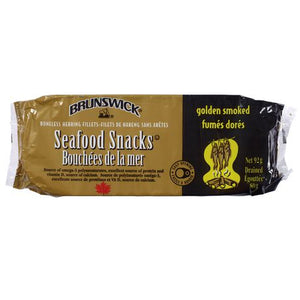 Brunswick Golden Smoked Seafood Snacks