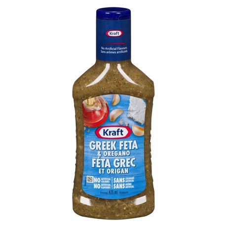 Kraft Greek Feta & Oregano Salad Dressing
