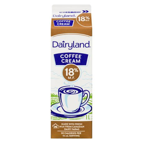 Dairyland 18% Coffee Cream