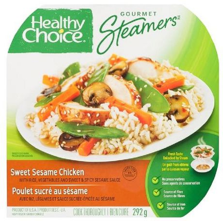 Healthy Choice Gourmet Steamers Healthy Choice® Sweet Sesame Chicken Frozen Dinner