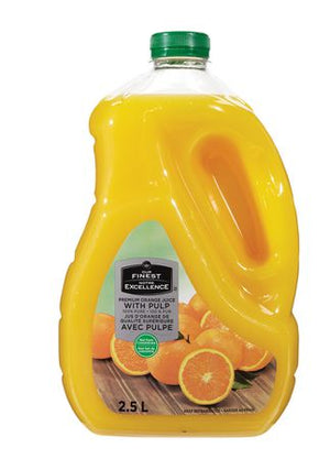 Our Finest with Pulp 100% Pure Premium Orange Juice