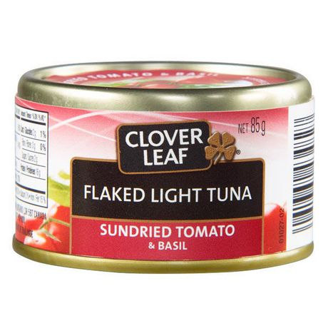 Clover LEAF® Sundried Tomato & Basil Flaked Light Tuna