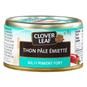Clover LEAF® Garlic And Hot Pepper Flaked Light Tuna