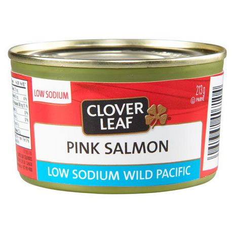 Clover LEAF® Low Sodium Pink Salmon