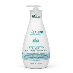 Live Clean Fresh Water Liquid Hand Soap