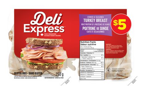 Maple Leaf Deli Express Turkey