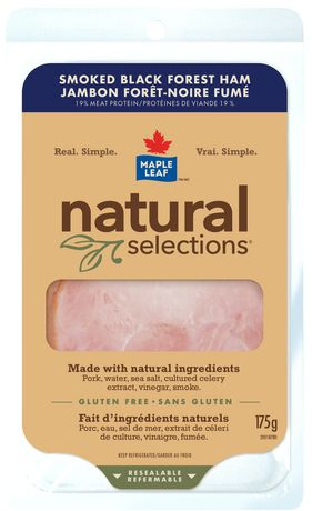 Maple Leaf® Natural Selections® Smoked Black Forest Ham