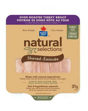 Maple Leaf® Natural Selections™ Turkey Club Pack 375g