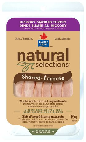 Maple Leaf® Natural Selections™ Hickory Smoked Turkey