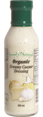 Simply Natural Organic Creamy Caesar Dressing