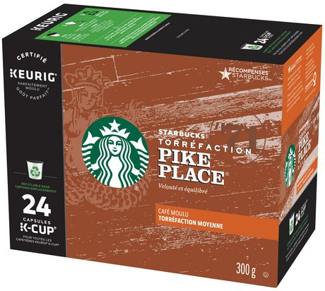Starbucks® Pike Place® K-Cup® PODS 24ct