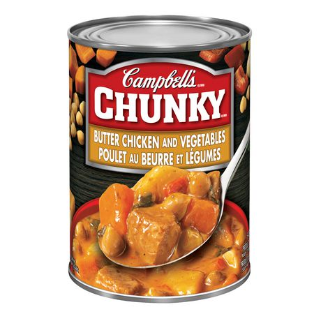 Campbell's Chunky Butter Chicken and Vegetables
