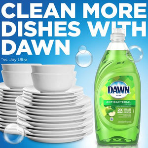 Dawn Ultra Antibacterial Dishwashing Liquid Hand Soap, Apple Blossom