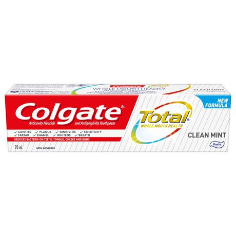 Colgate Total Toothpaste, Clean Mint