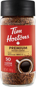 Tim Hortons Premium Instant Coffee Medium