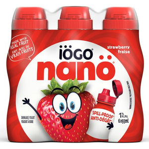 IÖGO nanö 1% Drinkable Strawberry Yogurt