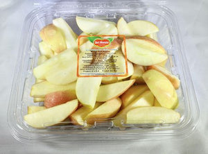 Sliced Red Apples