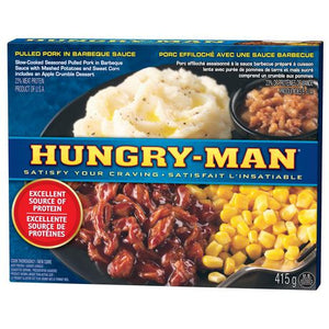 Hungry-Man Pulled Pork in Barbeque Sauce Frozen Meals
