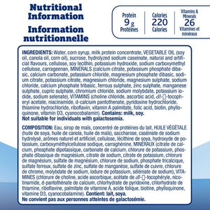 Ensure® Compact, Complete Balanced Nutrition, Vanilla, 4 x 118 mL