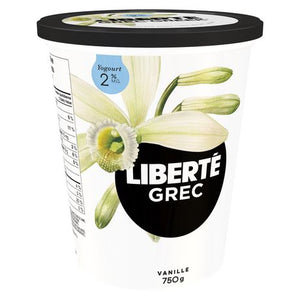 LIBERTÉ Greek Vanilla 2%MF  Yogurt
