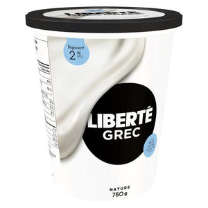 LIBERTÉ Plain 2% MF Greek Yogurt