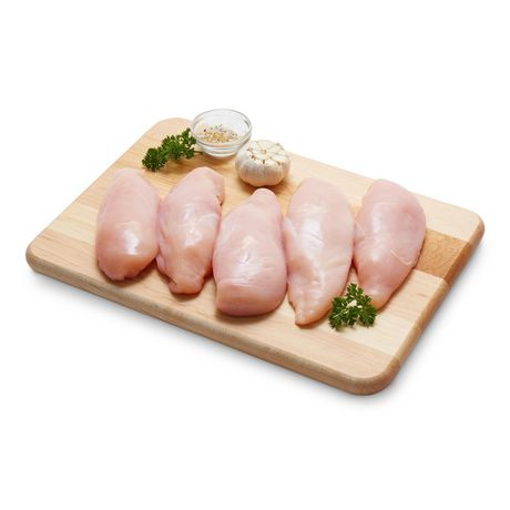 Boneless Skinless Fillet Removed Chicken Breasts
