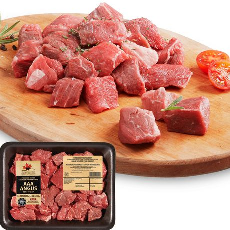 AAA Angus Beef Boneless Stewing Beef, Your Fresh Market
