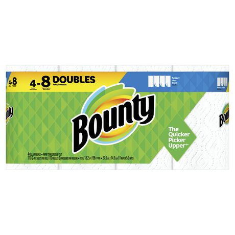 Bounty Select-A-Size Paper Towels, White