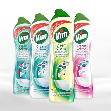 Vim Lemon Cream Cleaner