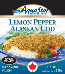 Lemon Pepper Alaskan Cod