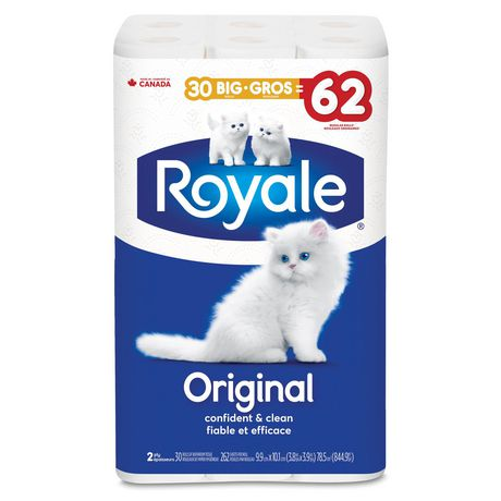 Royale Original, Kitten'y Soft Bathroom Tissue